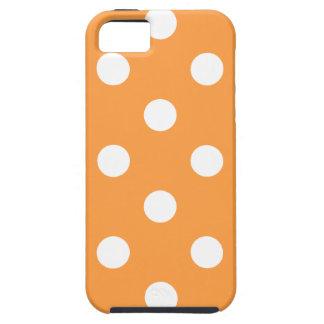 Funda Para iPhone SE/5/5s Modelo de lunar anaranjado