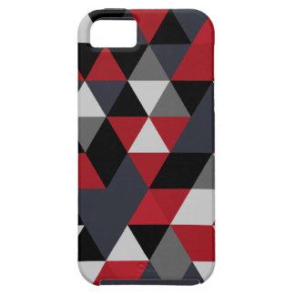 Funda Para iPhone SE/5/5s Modelo del polígono de Minimalistic (prisma)