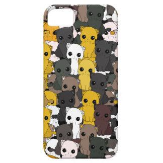 Funda Para iPhone SE/5/5s Modelo lindo de los gatos