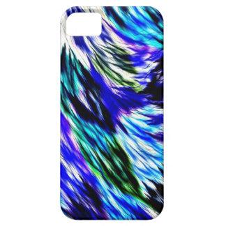Funda Para iPhone SE/5/5s Modelo púrpura blanco abstracto hermoso del verde
