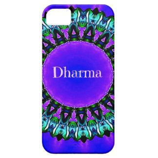 Funda Para iPhone SE/5/5s Modelo púrpura de la mandala de Darma de las