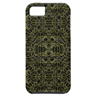 Funda Para iPhone SE/5/5s Modelo tribal de oro de Geo