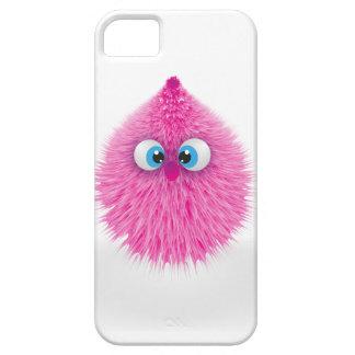 Funda Para iPhone SE/5/5s Monstruo rosado mullido lindo