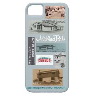 Funda Para iPhone SE/5/5s ¡Mosaico moderno de la casa del vintage!