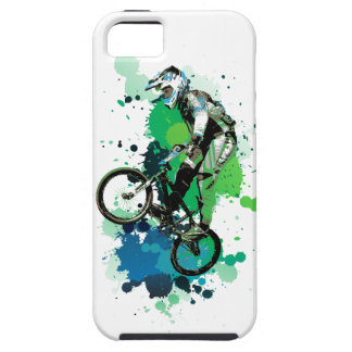 Funda Para iPhone SE/5/5s Mountain bike art
