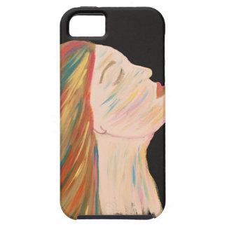 Funda Para iPhone SE/5/5s Mujer multicolora