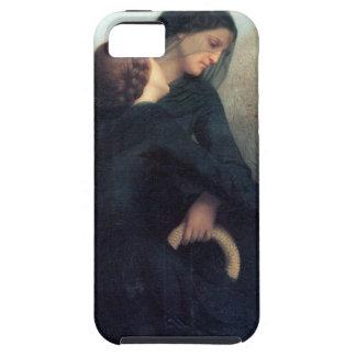 Funda Para iPhone SE/5/5s Mujeres góticas Bouguereau de la cruz negra del