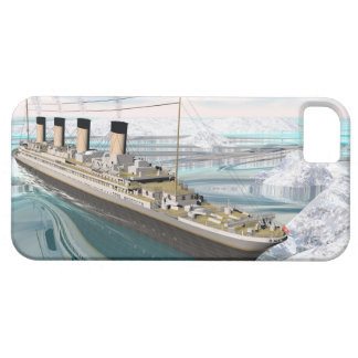 Funda Para iPhone SE/5/5s Nave titánica - 3D rinden