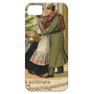 Funda Para iPhone SE/5/5s Navidad alemán del soldado del vintage retro
