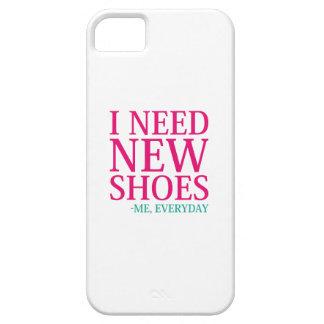 Funda Para iPhone SE/5/5s Necesito los nuevos zapatos
