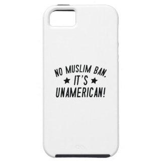Funda Para iPhone SE/5/5s Ninguna prohibición musulmán