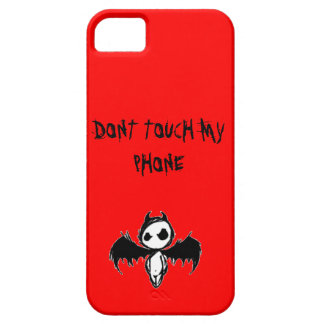 Funda Para iPhone SE/5/5s No toque mi CAJA del teléfono (IPHONE5S/5S)