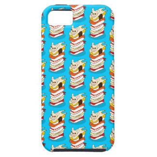 Funda Para iPhone SE/5/5s Noche japonesa del sushi para el dogo francés