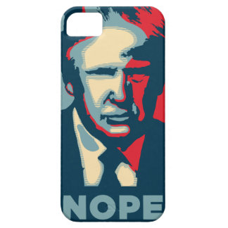 Funda Para iPhone SE/5/5s nope de Donald Trump