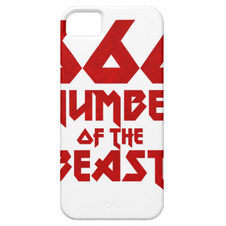 Funda Para iPhone SE/5/5s Número de la bestia