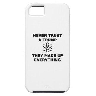 Funda Para iPhone SE/5/5s Nunca confíe en un triunfo