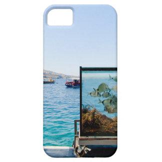 Funda Para iPhone SE/5/5s Opinión hermosa del mar de Santorini
