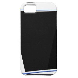 Funda Para iPhone SE/5/5s Ordenador de la tableta en blanco