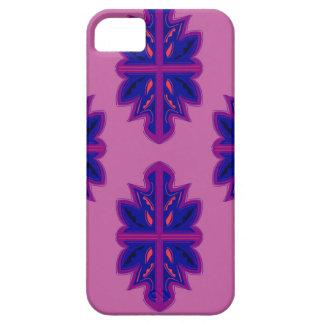 Funda Para iPhone SE/5/5s Ornamentos populares púrpuras