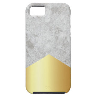 Funda Para iPhone SE/5/5s Oro concreto #372 de la flecha