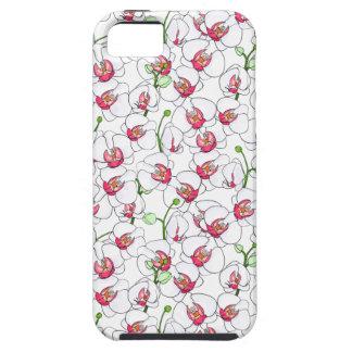 Funda Para iPhone SE/5/5s Orquídeas blancas