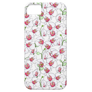 Funda Para iPhone SE/5/5s Orquídeas blancas