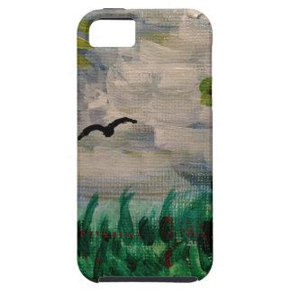 Funda Para iPhone SE/5/5s Pájaro en el prado