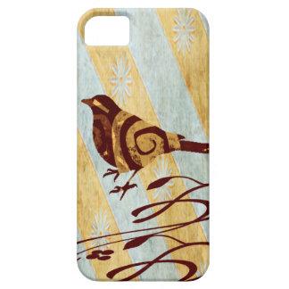 Funda Para iPhone SE/5/5s Pájaro estilizado y remolinos