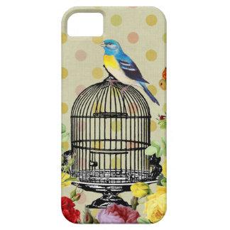 Funda Para iPhone SE/5/5s pájaro floral, arte, diseño, hermoso, nuevo, moda