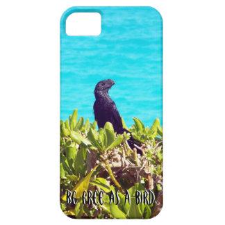 Funda Para iPhone SE/5/5s Pájaro negro