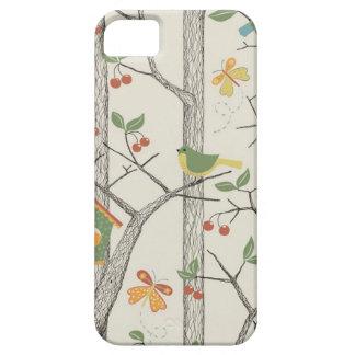 Funda Para iPhone SE/5/5s Pájaros en un árbol
