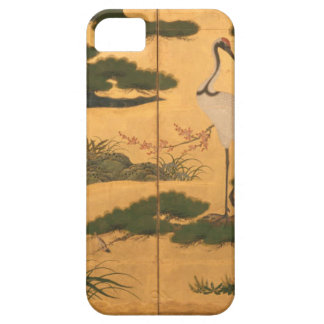 Funda Para iPhone SE/5/5s Pájaros y flores de las cuatro estaciones