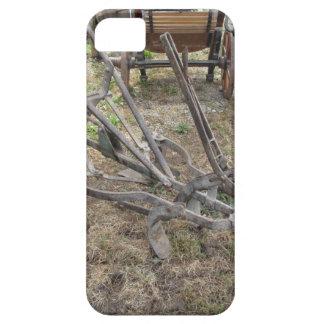 Funda Para iPhone SE/5/5s Paleta vieja del hierro y otras herramientas