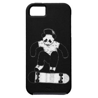 Funda Para iPhone SE/5/5s Panda que anda en monopatín