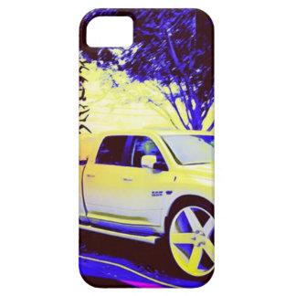 FUNDA PARA iPhone SE/5/5s PARADA DE CAMIONES DE MID-KNIGHT