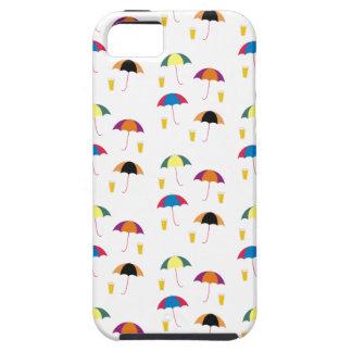 FUNDA PARA iPhone SE/5/5s PARAGUAS Y BEBIDA