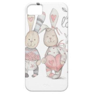 Funda Para iPhone SE/5/5s pares banny 2 del conejo