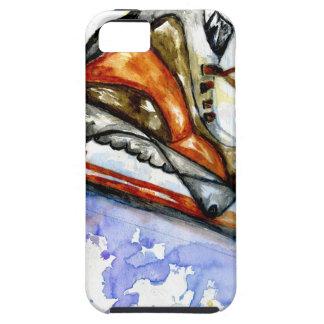 Funda Para iPhone SE/5/5s Patín de hielo de la acuarela