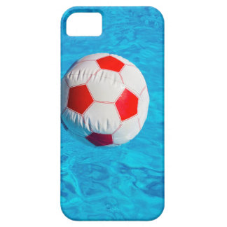 Funda Para iPhone SE/5/5s Pelota de playa que flota en piscina azul