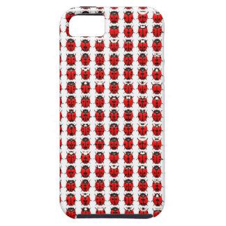 Funda Para iPhone SE/5/5s Pequeñas mariquitas rojas