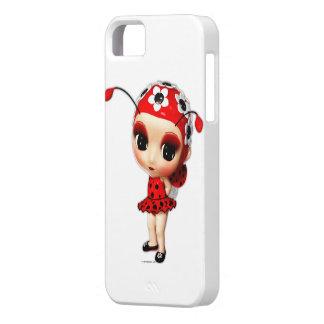 Funda Para iPhone SE/5/5s Pequeño caso del iPhone 5 de Srta. Ladybug