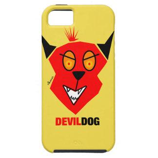 Funda Para iPhone SE/5/5s Perro de diablo - cubierta del iPhone 5