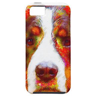 """Funda Para iPhone SE/5/5s Perro de montaña de Bernese del """"RELOJ"""" -"""