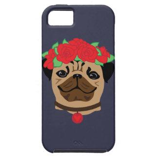 Funda Para iPhone SE/5/5s Perro divertido. Barro amasado lindo con la