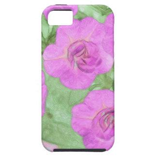 Funda Para iPhone SE/5/5s Petunias pintadas