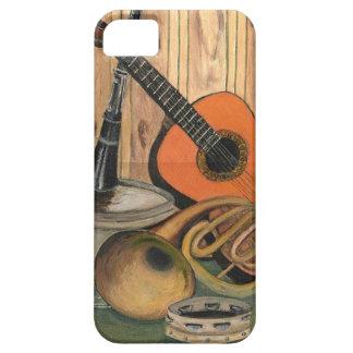 Funda Para iPhone SE/5/5s Pintura Música-temática del arte de la guitarra