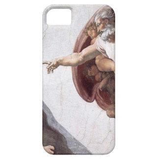 Funda Para iPhone SE/5/5s Pintura original de Miguel Ángel en la capilla