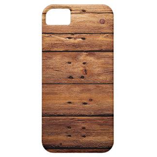 Funda Para iPhone SE/5/5s piso de madera