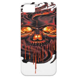 Funda Para iPhone SE/5/5s Png rojo sangriento de los esqueletos