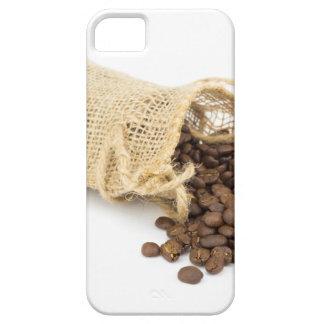 Funda Para iPhone SE/5/5s Poca harpillera con los granos de café